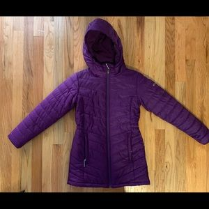 Girls Columbia omniheat jacket EUC
